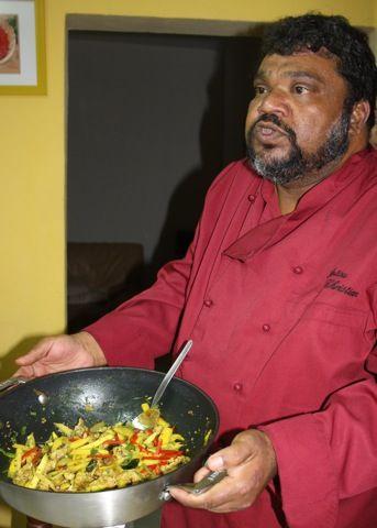 Cours de cuisine cr ole avec christian antou - Recette de cuisine creole reunion ...